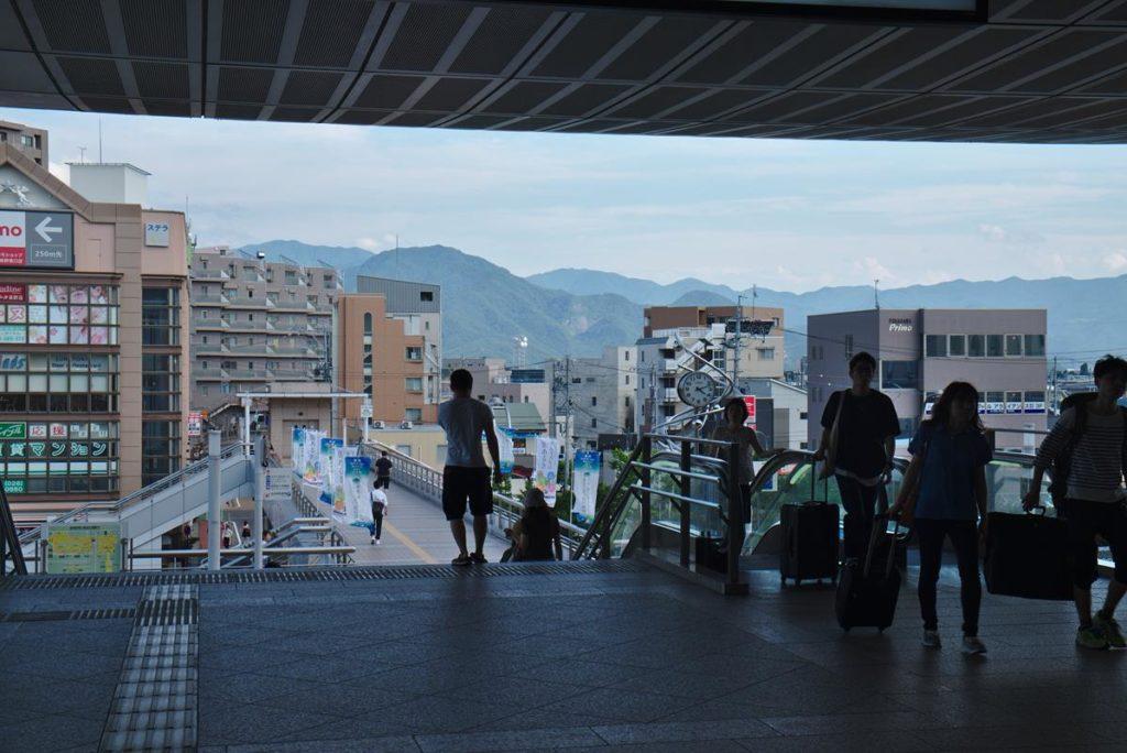 Dworzec w Nagano
