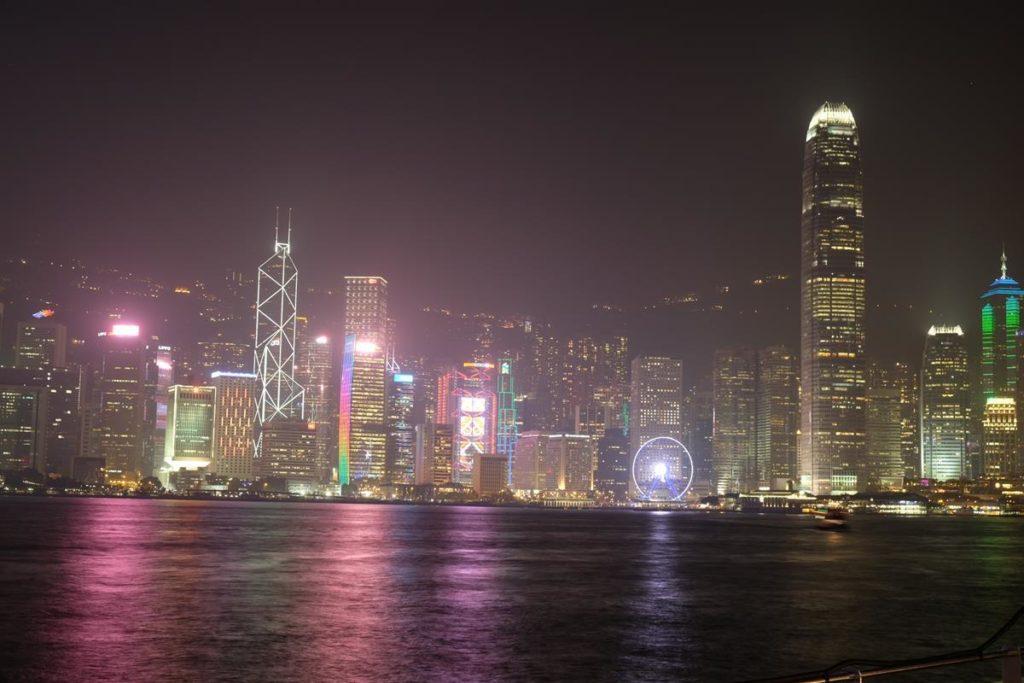 Widok Hong Kongu