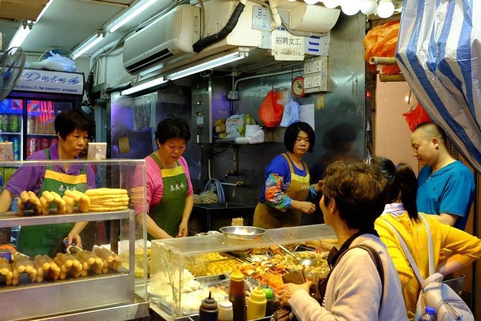 Tłoczny Mong Kok