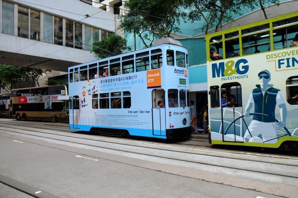 Piętrowe tramwaje