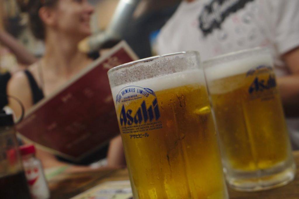 Japońskie piwo