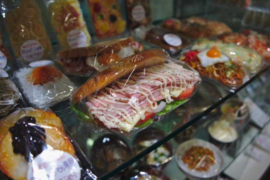 Sztuczne jedzenie w Japonii