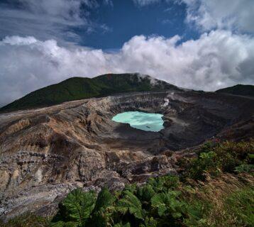 Krater wulkanu Poas